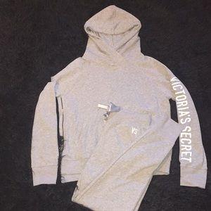 Victoria's Secret hoodie and jogger Set